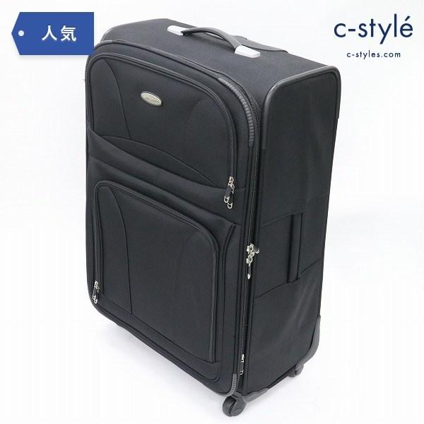 Samsonite サムソナイト ソフト スーツケース トラベル バッグ 4輪 ブラック